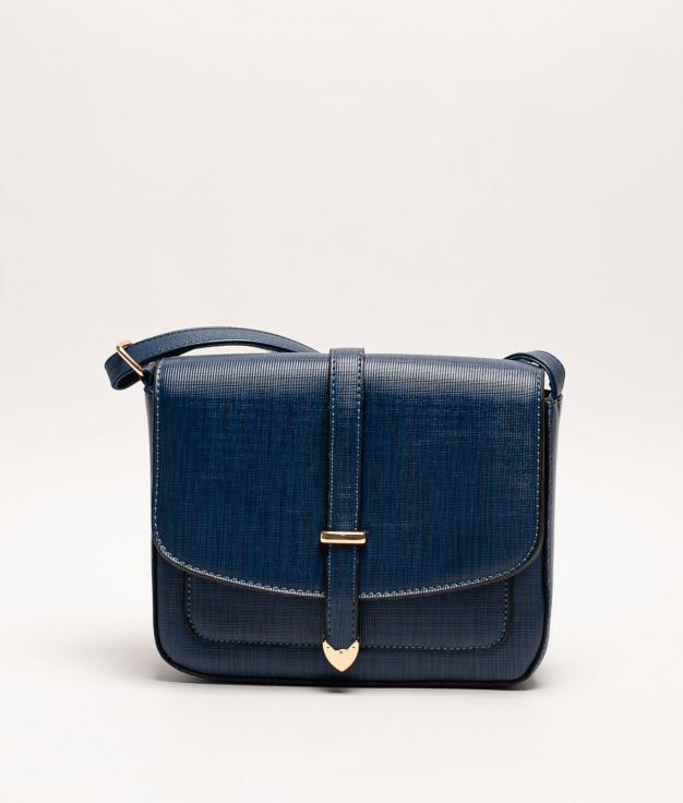 Tina Shoulder Bag - NAVY BLUE
