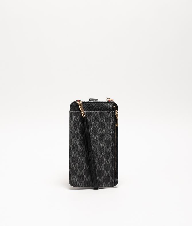 Wallet Mobile Holder Javari - Black