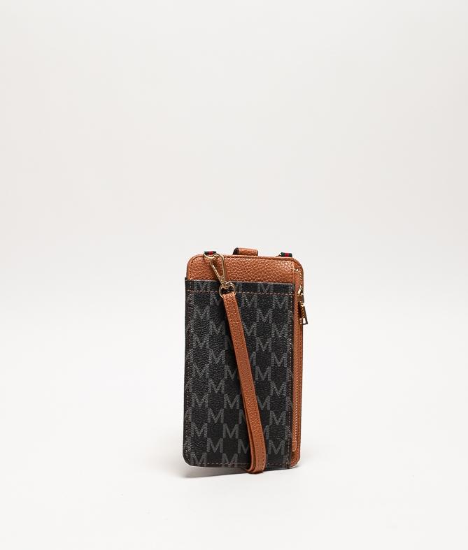Wallet Mobile Holder Javari - Brown