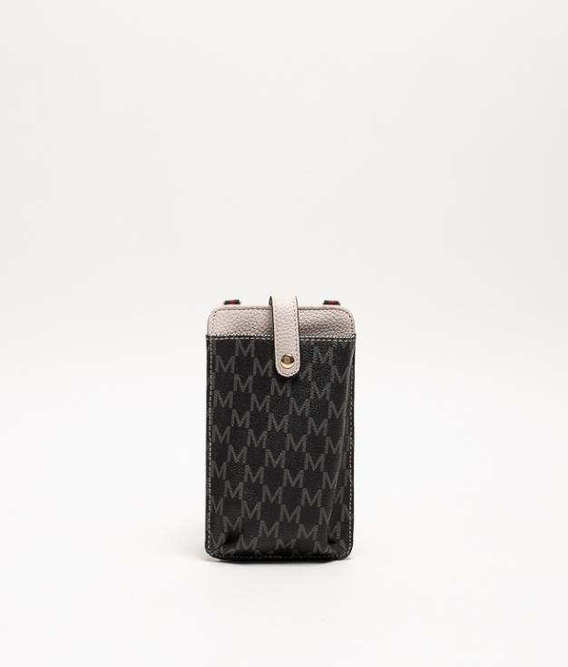 Wallet Mobile Holder Javari - Gray/Black
