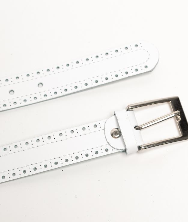 Cinturón Paru - Branco
