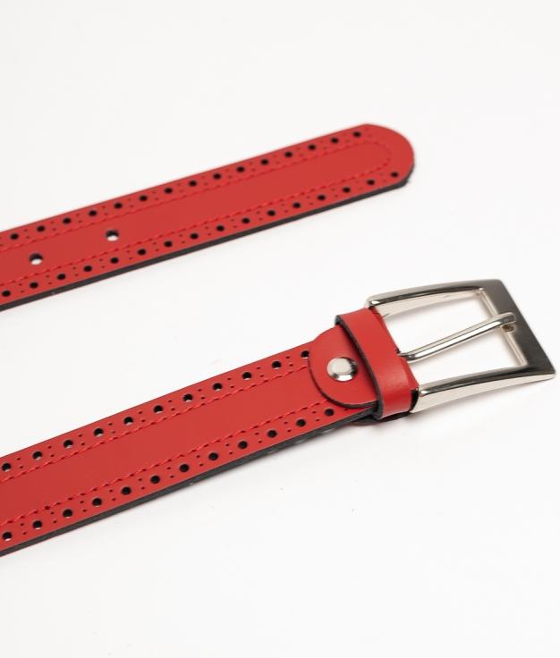 Cinturón Paru - Vermelho