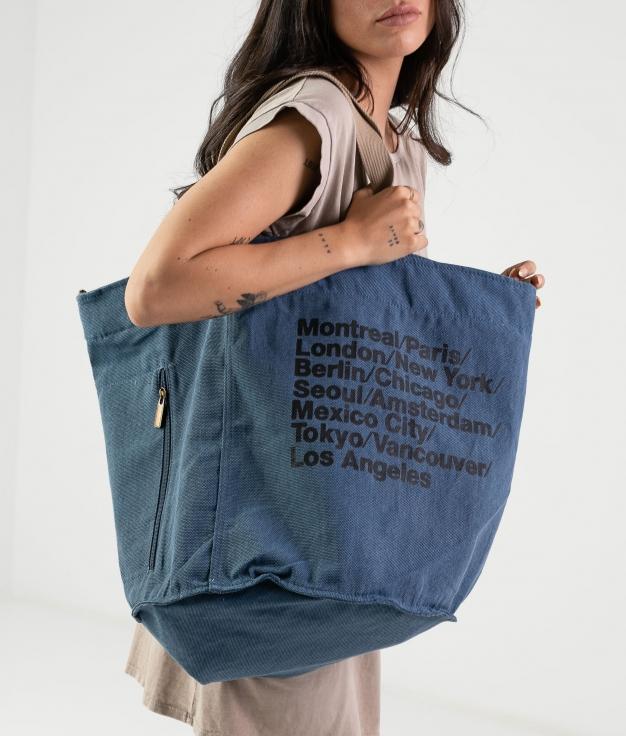 Jym bag - blue