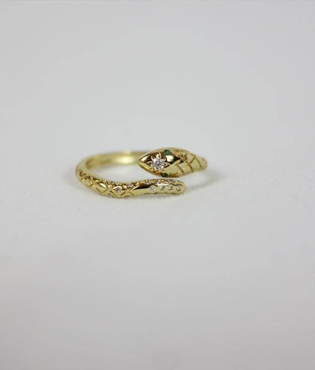 RING YIBUR - GOLDEN