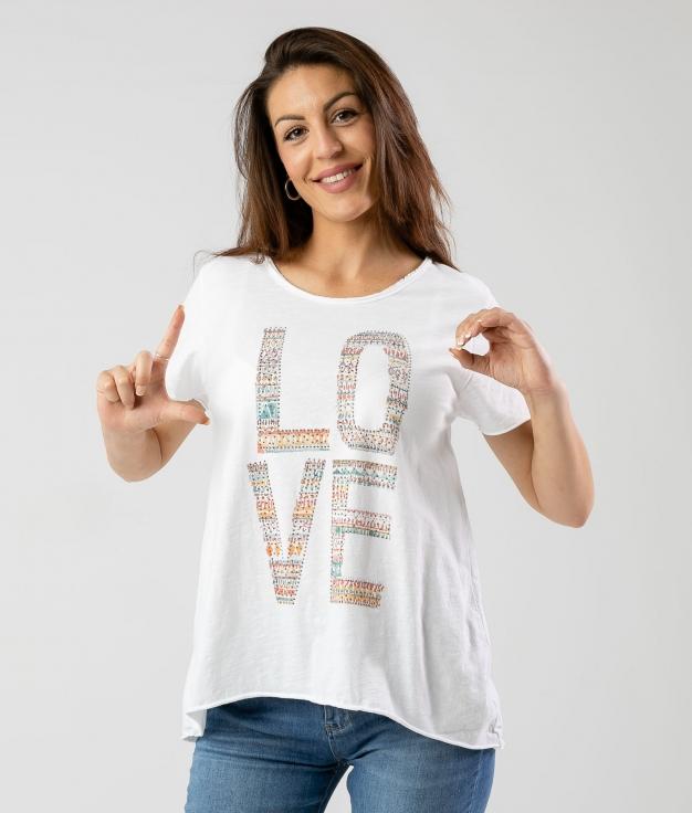 CAMISETA RACOS - LOVE