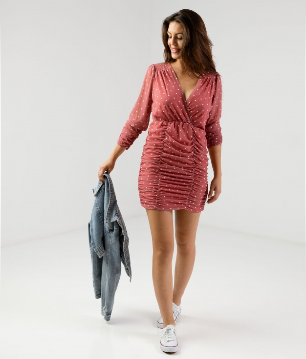 Dress Triju- Pink