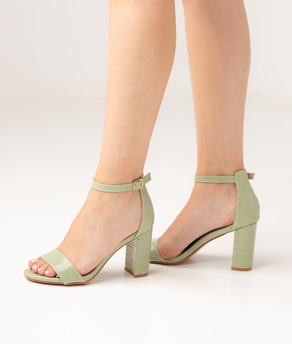 Sandalo Alto Bisuter - Verde