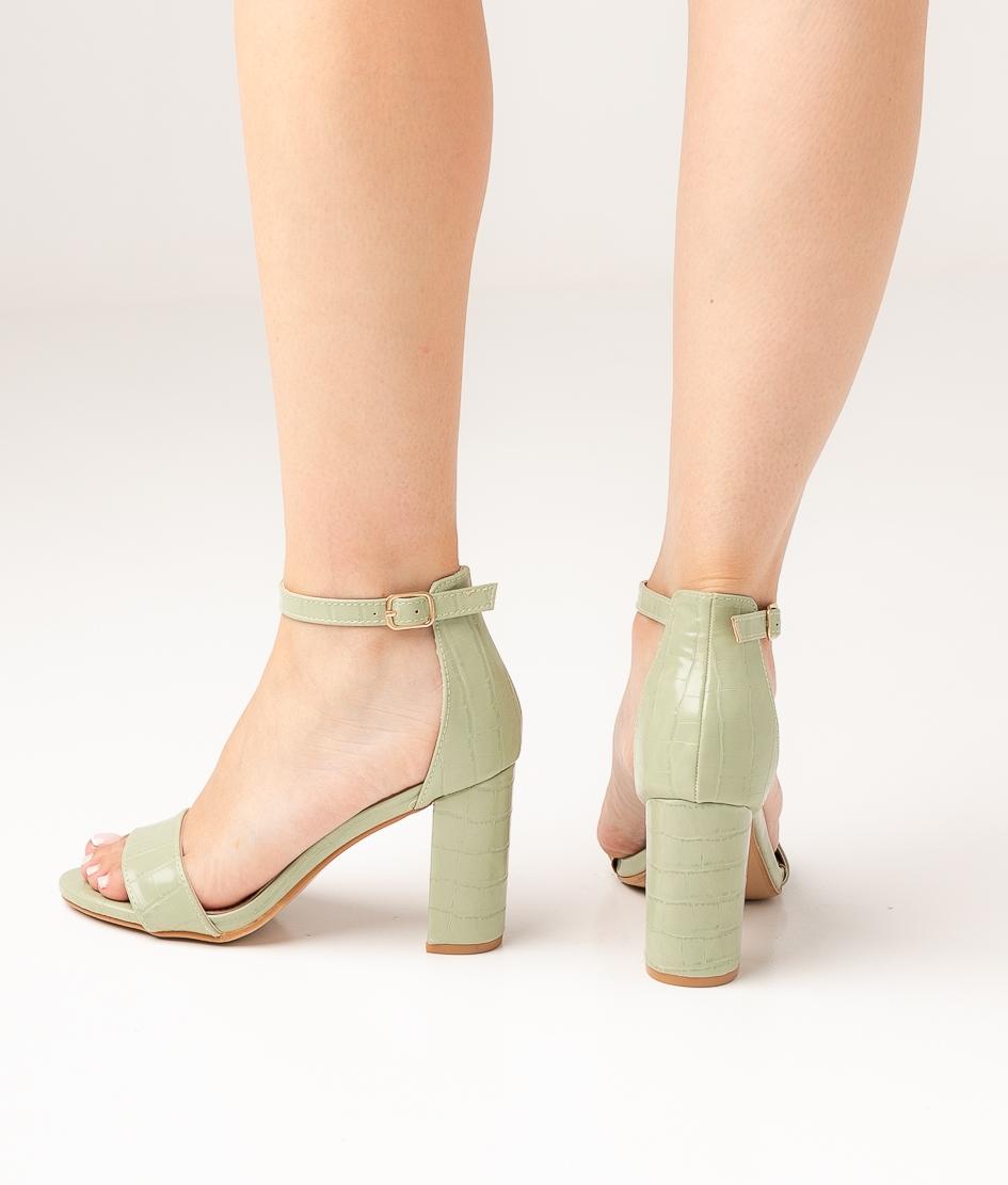 Sandália de Salto Bisuter - Verde