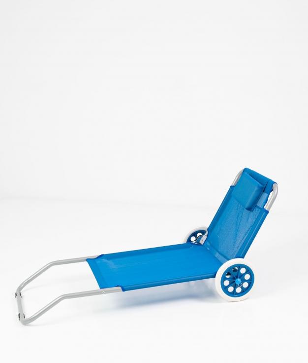 SILLA PLAYA RUEDAS - BLUE