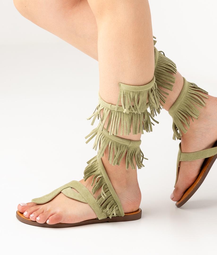 flat sandal Flecsi- Verde