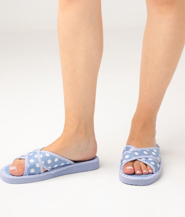 LENA SLIPPERS - BLUE