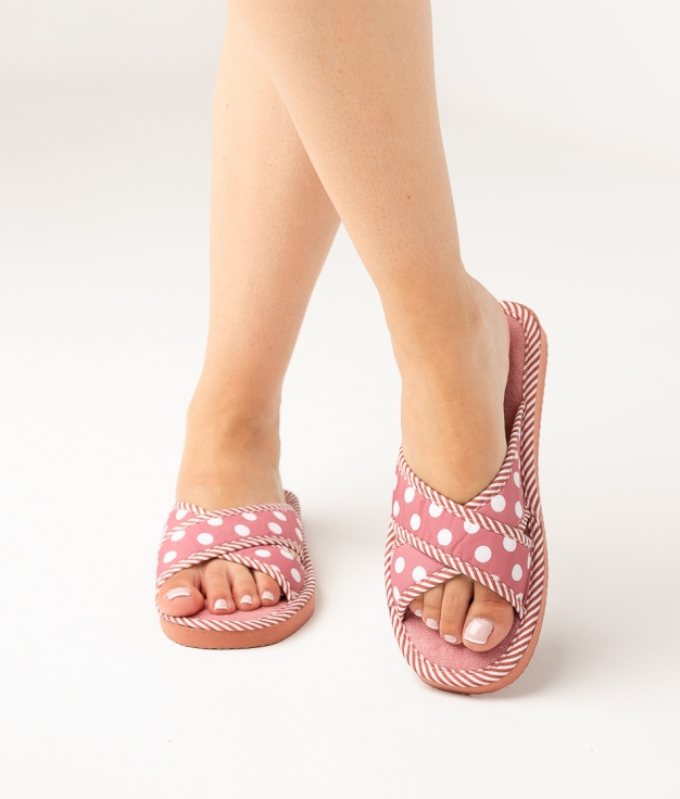 LENA SLIPPERS - PINK