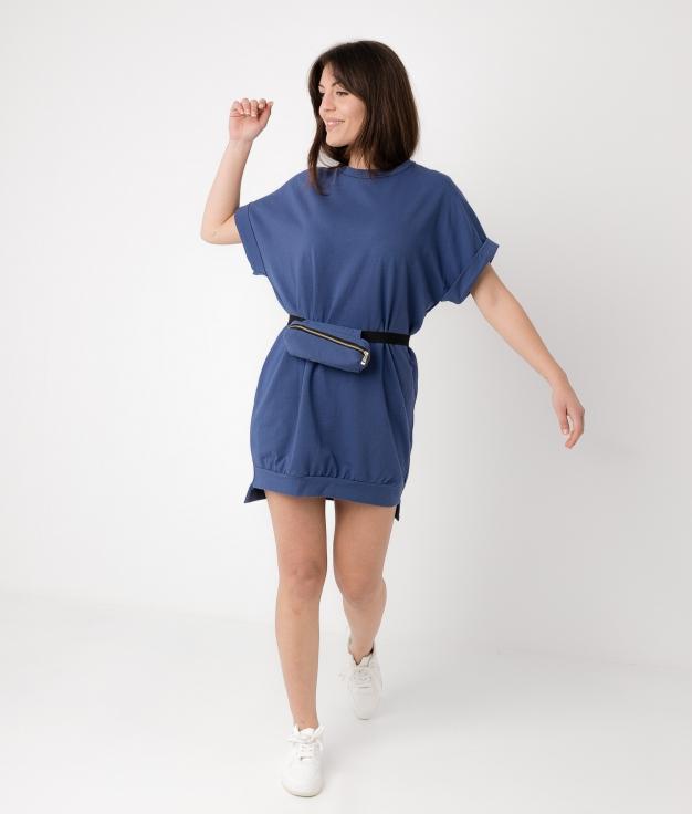 Vestido Yuner - Dark Blue