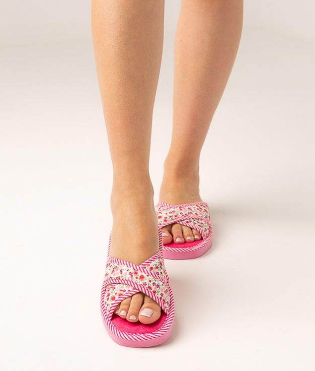 LORET SLIPPERS - PINK