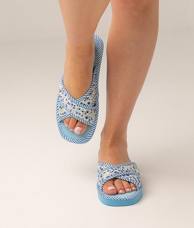 LORET SLIPPERS - BLUE