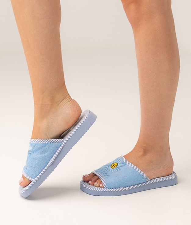 MARGE SLIPPERS - BLUE