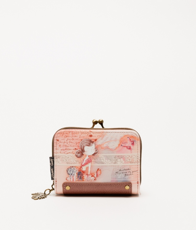 Sweet Candy Pink Wallet - Pink