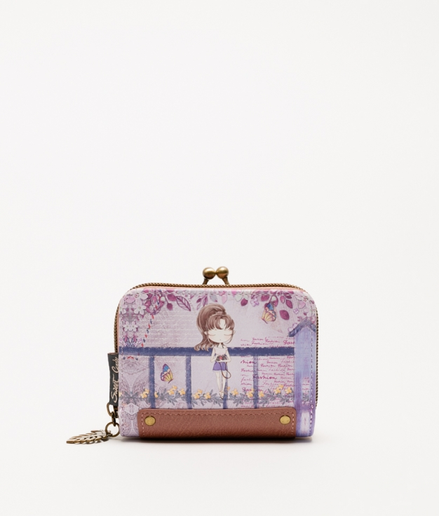 Violet Sweet Candy Wallet - Violet