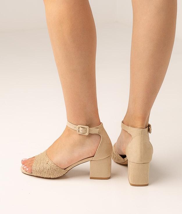 High Sandal Evia - Beige