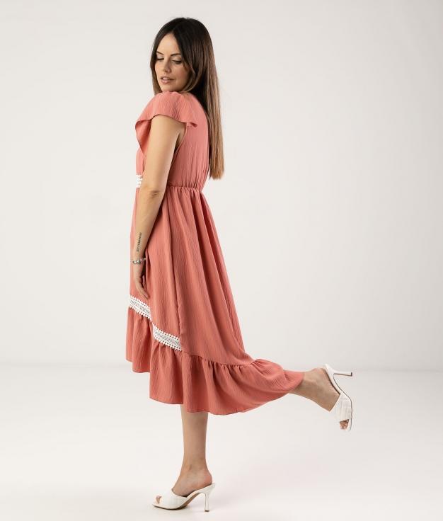 DRESS SINCHI - CORAL