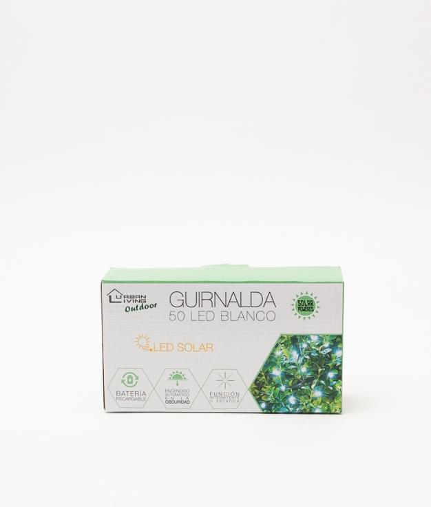 GUIRNALDA DE 50 LED - BLANCO