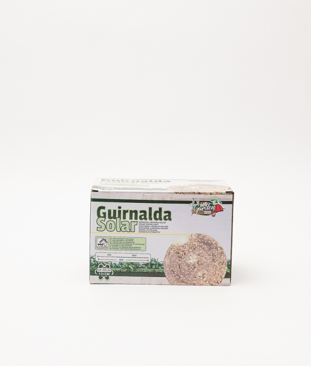 GUIRNALDA SOLAR 100 BOLAS LED