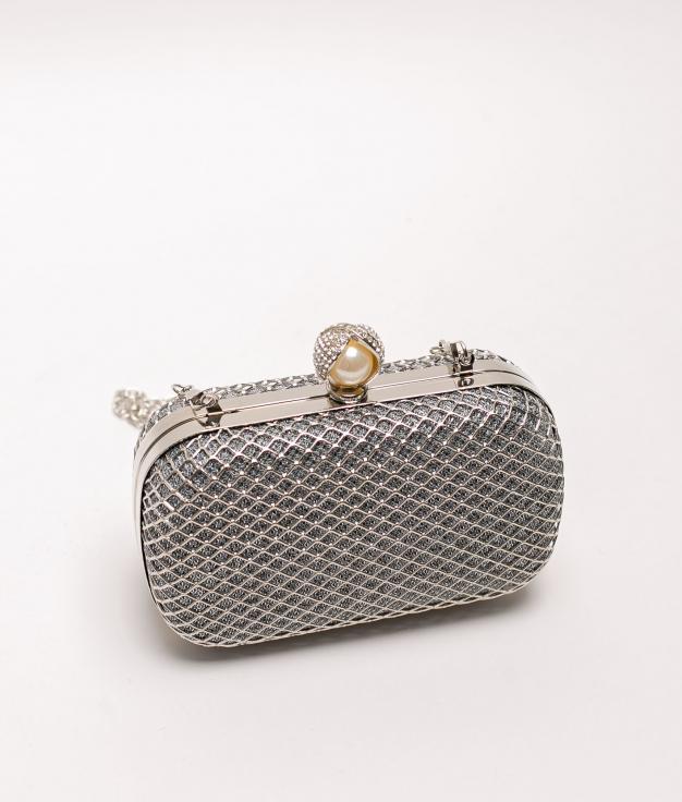 asuns handbag - silver