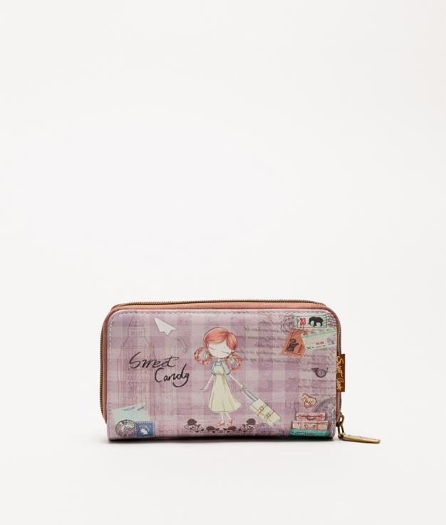 Violeta Sweet Candy Wallet - Violet