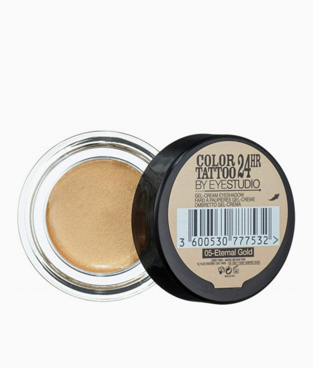 SOMBRA COLOR TATTOO 24H MAYBELLINE - 05 ETERNAL GOLD