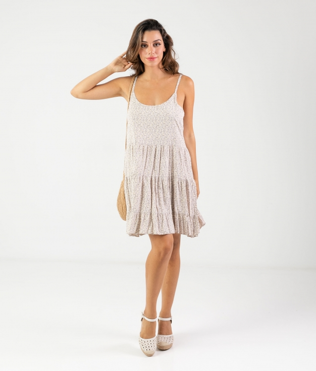Vestido Malar - Biege