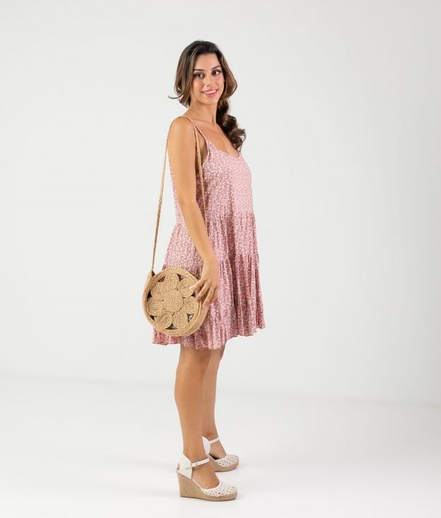 Vestido Malar - Pink