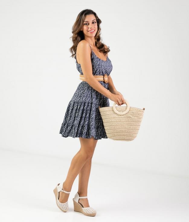 Vestido Malar - Blu Marino