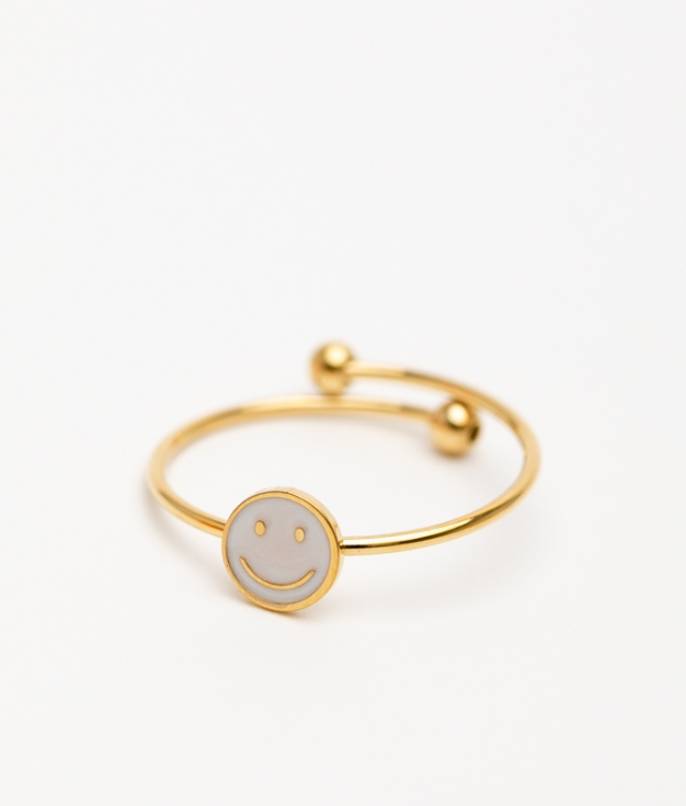 CLARBE RING - WHITE
