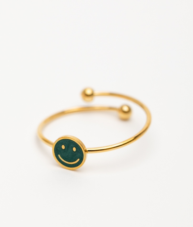 CLARBE RING - GREEN