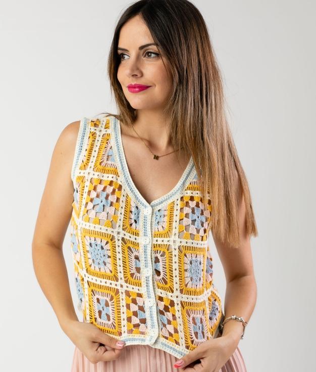 COLETE LERADES - AMARELO
