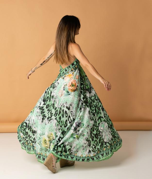 Vestido Zenca - Verde Claro