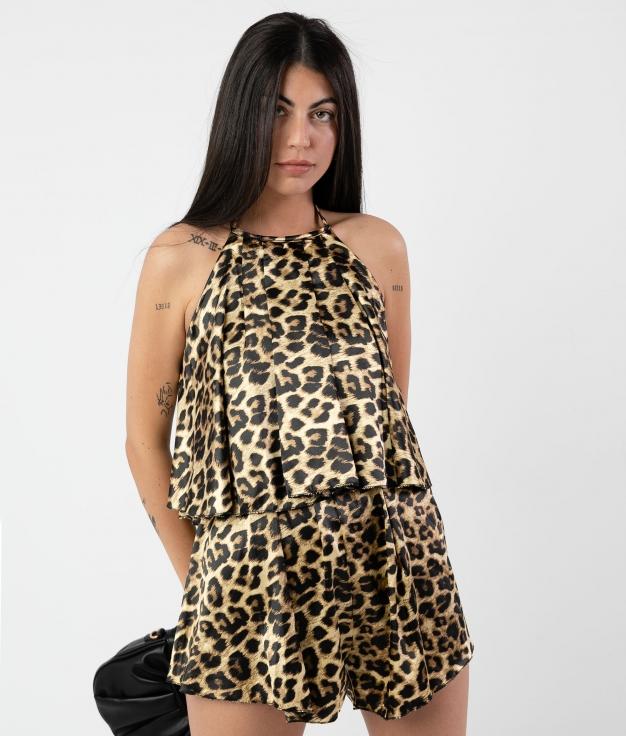 Salopette Jarson - Leopardo