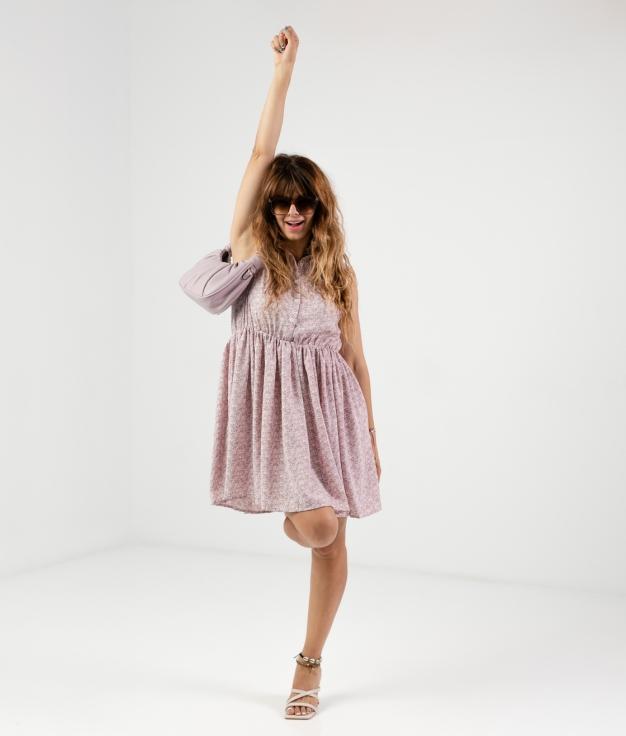 Vestido Kaber - Rosa