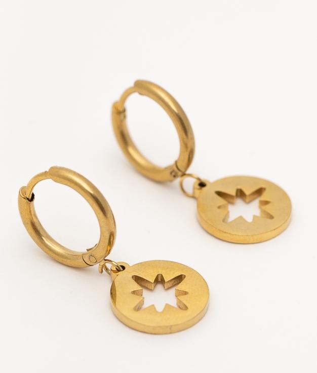PERYU EARRINGS - GOLDEN