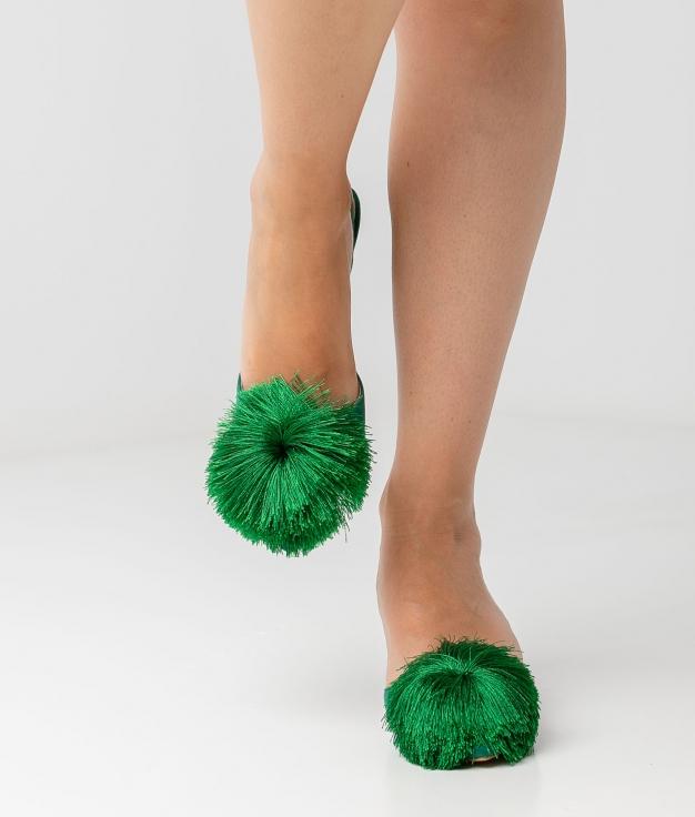 Zapato De Tacón Liria - Verde