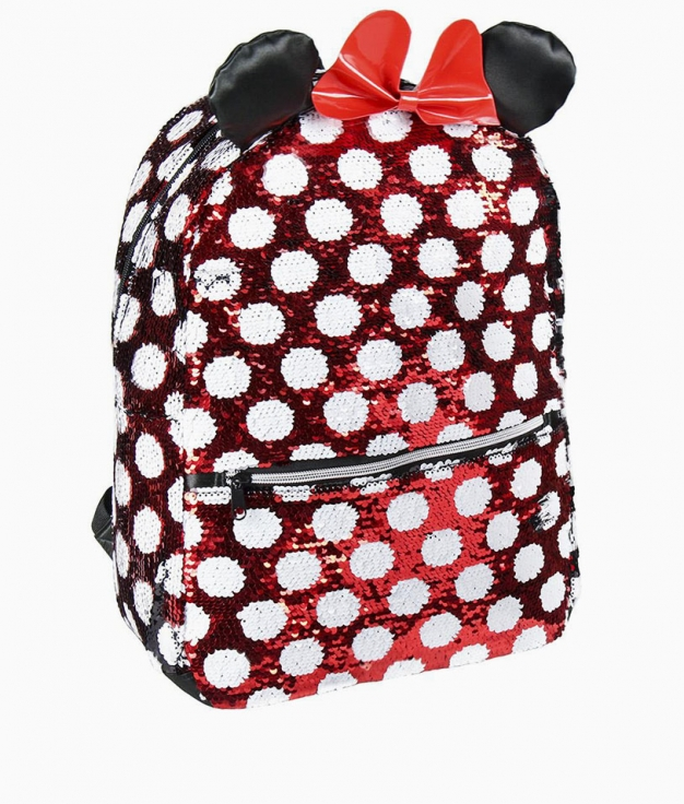 Minnie casual backpack - Lentejuelas
