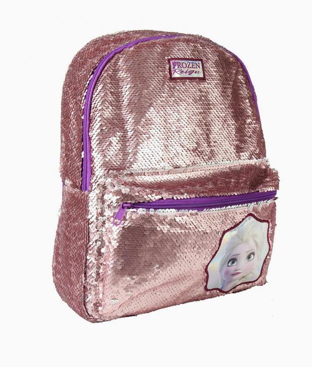 sac à dos décontracté Frozen - Lentejuelas