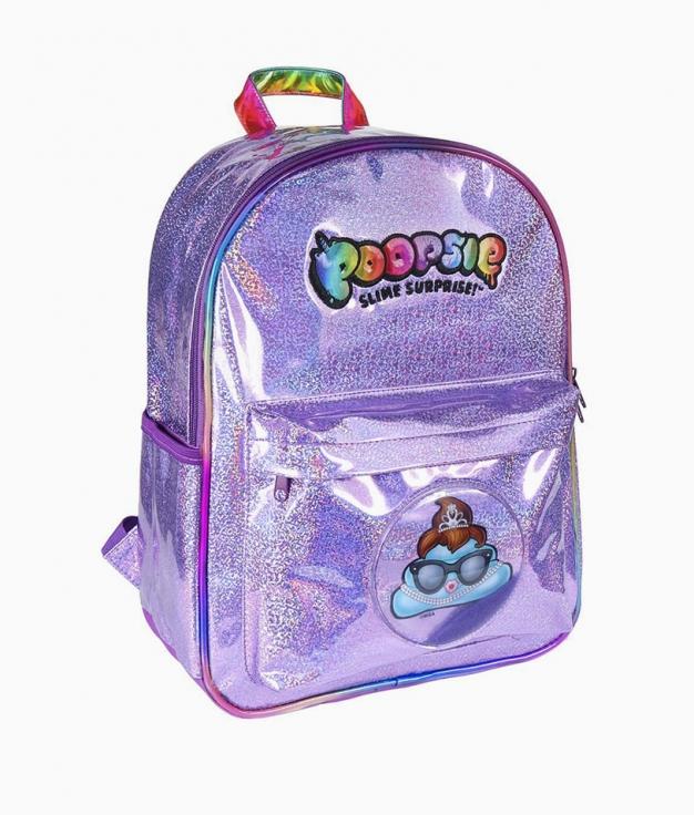 Poopsie casual backpack - Lentejuelas
