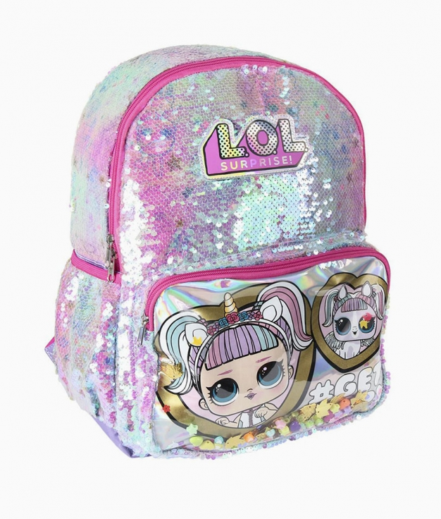 Lol casual backpack - Lentejuelas