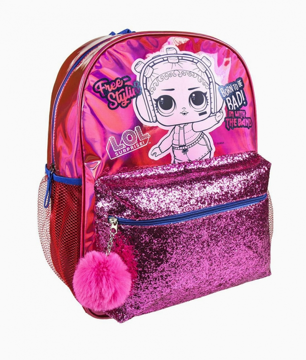sac à dos décontracté Lol - Fucsia