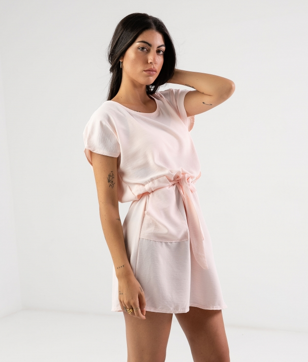 Vestido Tremer - Rosa