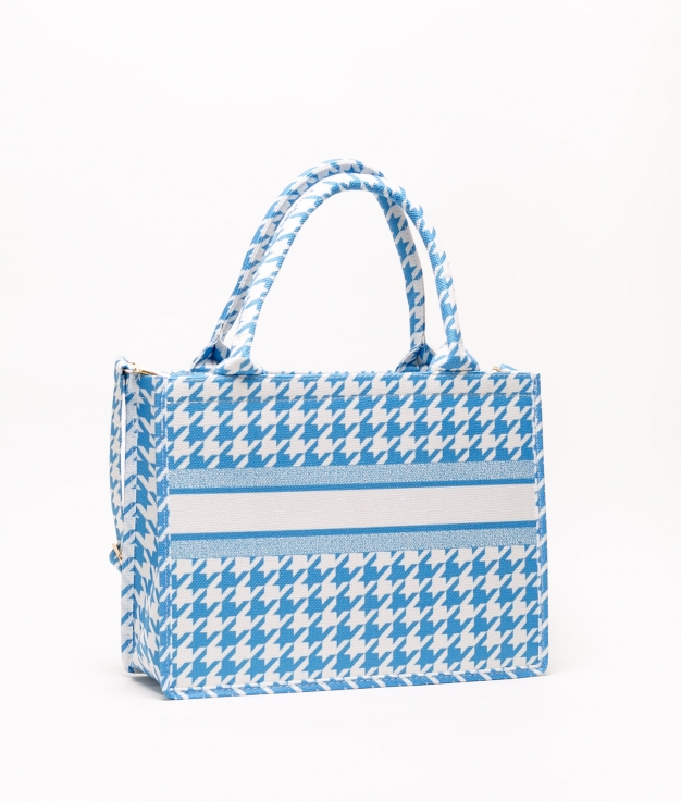 bolsa kiker - azul claro