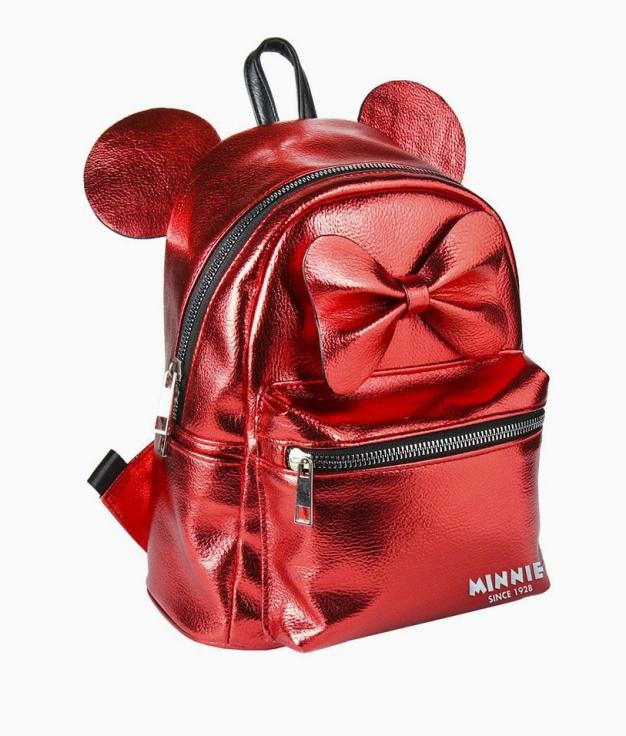Mochila Casual Minnie - Rojo