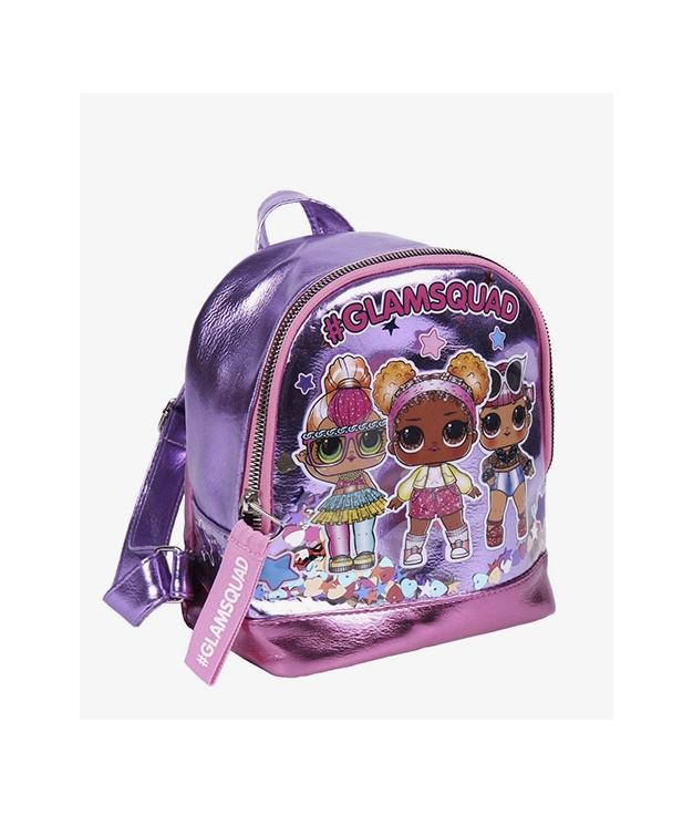 sac à dos décontracté Lol - Lila