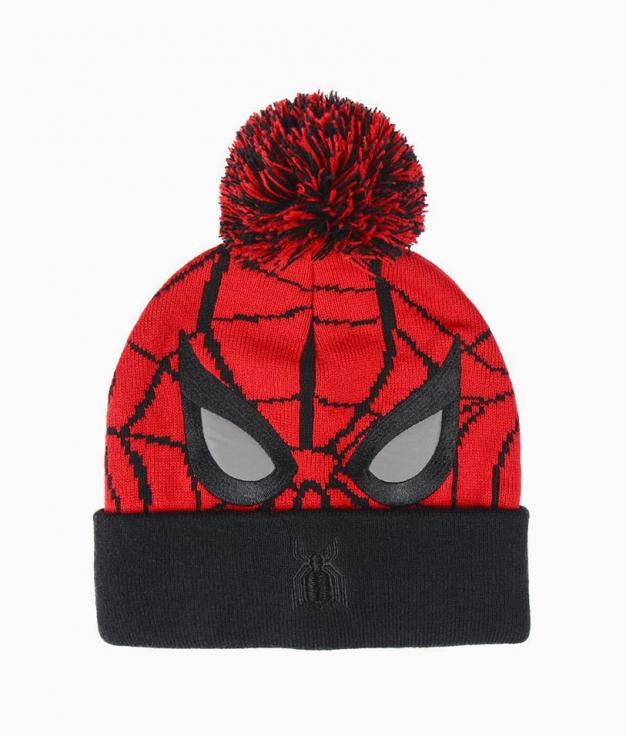 Gorro Infantil Spiderman - Rojo